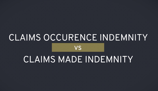 Claims Occurrence vs Claims Made